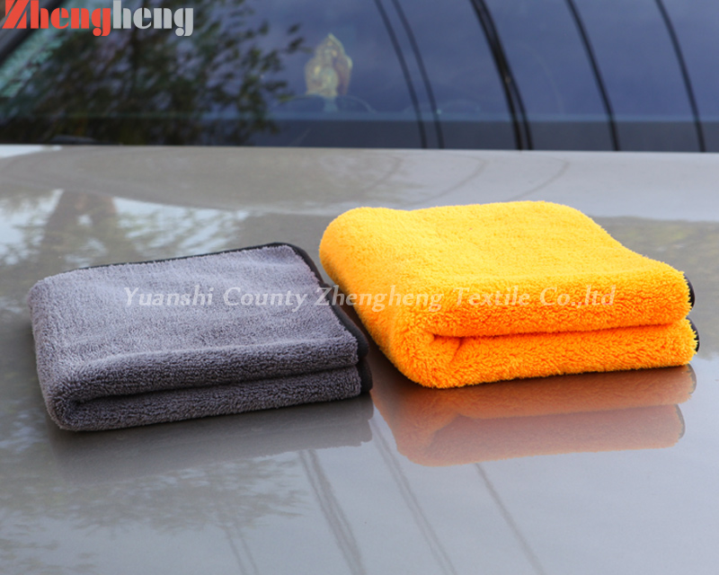 Coral Fleece Car Cleaning Towel