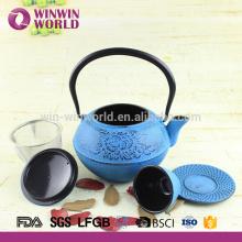 Wholesale High Quality Deffirent Series Iron Cast Tea Pot -Enamenal coating