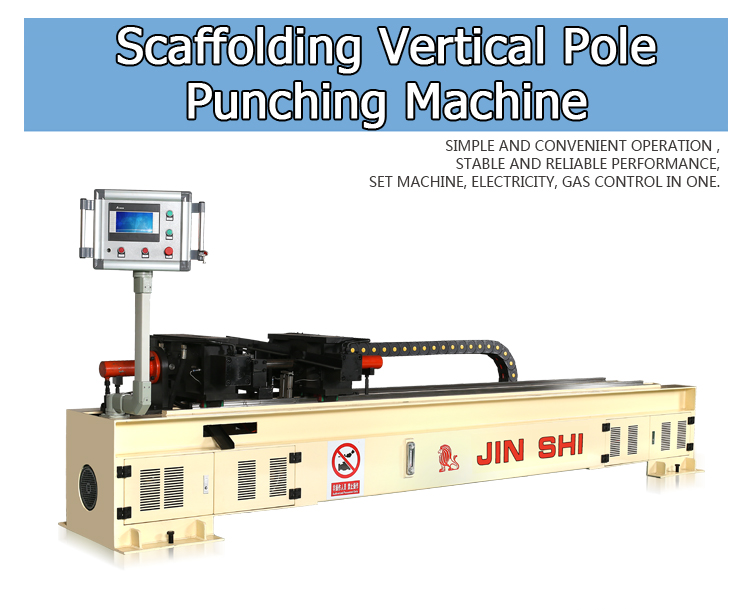 Scaffolding Vertical Pole Puncher