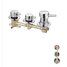 Factory 1230g bathroom OEM cheap 3 ways faucets shower valve mixer tap faucet