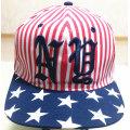 Preiswerter Qualitäts-flacher Spitzen-gestickter Sport-Baseball-Hut