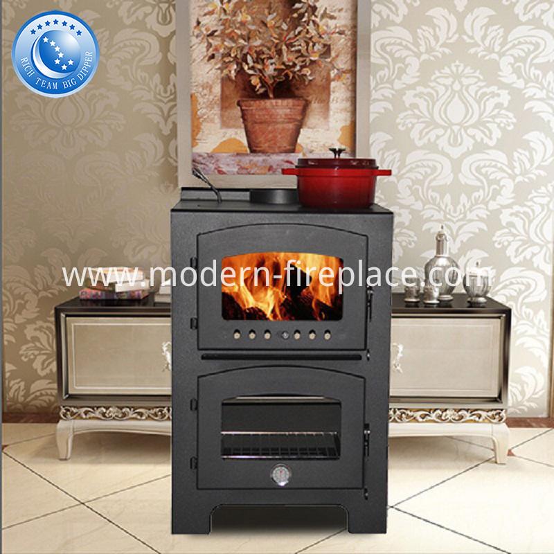 Steel Wood Burning Fireplace China CE Certification