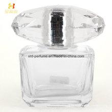 Botella de vidrio cosmética botella de vidrio de perfume de embalaje