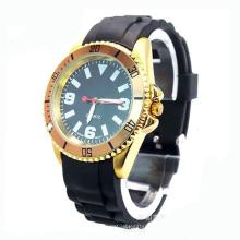 Relógio de silício de caso de liga de quartzo movimento