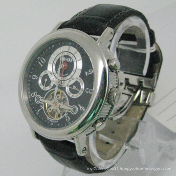 Top Brand Quality Stainless Steel Automatic Watch (HLSL-1007)