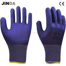 Proveedores de PPE Guantes de trabajo con látex revestido de espuma (LH304)