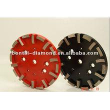 Disco abrasivo de 250mm para hormigón