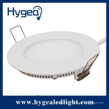 2014 design de mode haute qualité 20W led down light round panel