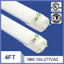 4ft 100-277V 110lm/w UL lm79 DLC led linear light