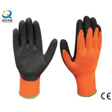 Рабочие перчатки с латексной ладонью