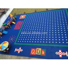 Mudolar interlocking court tiles for child
