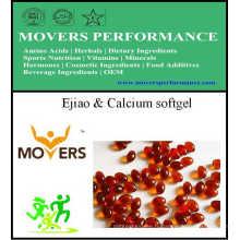 Ejiao et Softgel de calcium / Softgel végétal / aucun préservatifs