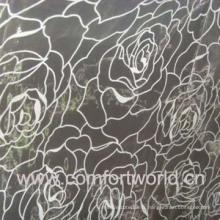 Tissu de rideau Organza Flocage (SHCL00869)