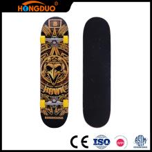 Hot selling custom kids skateboard longboard with four wheel