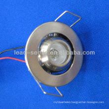 high power led downlight LED 1w/2w/3w eyeball
