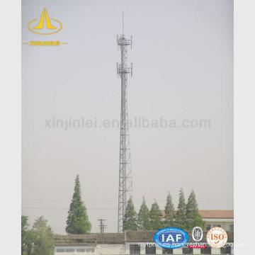 Torre de telecomunicaciones tubular de acero