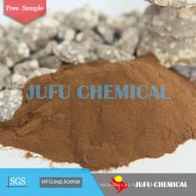 Construcción de mezcla química Na Lignosulphonate