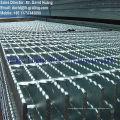 Painéis de rede de aço galvanizado, sistema de revestimento de malha de aço galvanizado, grelhas de trincheiras galvanizadas