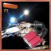 High quality bike headlight 1200lume cree xm-l t6 *2 led head miner's lamp