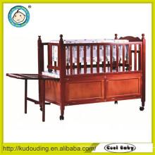 Bedroom furniture baby wooden box bed design