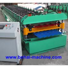 Bobina de folha dupla de Bohai que dá forma à máquina