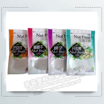 Aluminum Zipper Package  Bags with Clear Window