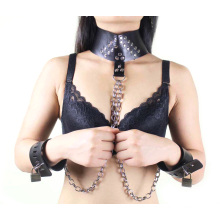 Секс-мультфильм «Секс в наручниках» Секс-суставы с металлической цепью Секс-бондаж Секс-сдерживание Секс-игрушки бдсм