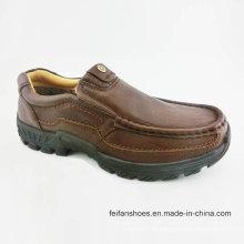 Männer Freizeit Schuhe Causal Leder Schuhe (FF715-8)