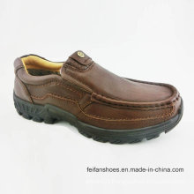 Men Leisure Shoes Causal Leather Shoes (FF715-8)