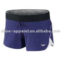 Novo design roxo calções desportivos para a execução de serviço oem