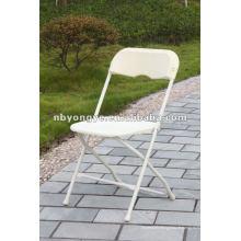 Chaise pliante en plastique en plein air