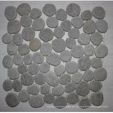 Telhas de mosaico de pedra natural do seixo de pedra de 30.5 × 30.5cm Quarzite