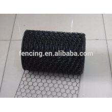 O PVC / PE pulverizou a rede de arame sextavada do revestimento, rede para a venda quente