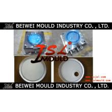 Moulage en plastique de couvercle de seau de peinture en plastique de haute qualité d'injection