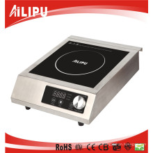 Commercial Induction Cooker (crystal plate, Touch & Knob control, 15 power adjustments)