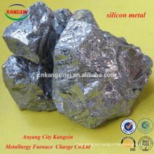 precio de fábrica del metal de silicio para la fabricación de acero
