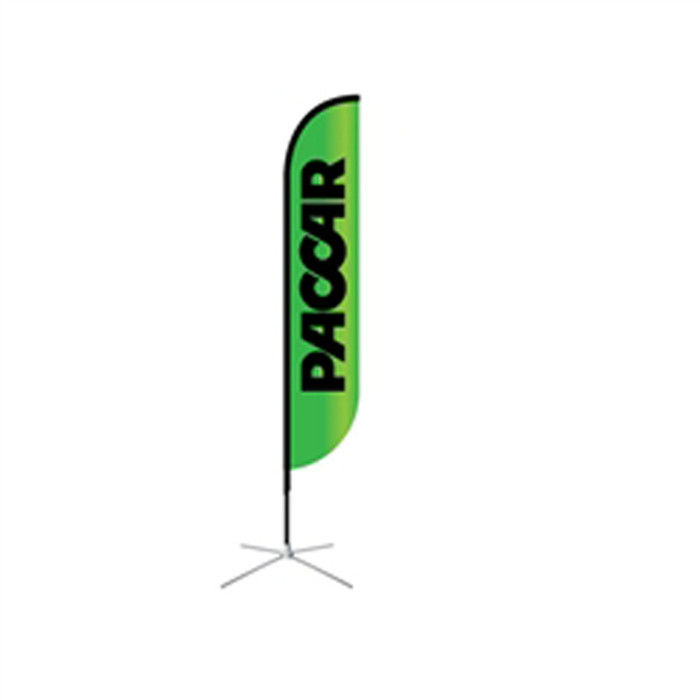 100% Polyester Swooper Custom Feather Banner Flaggor