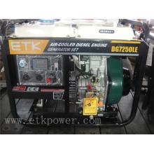 6kw Diesel-Generator-Set mit luftgekühltem Motor