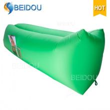 Cama plegable del aire de los bolsos de dormir del sofá de Laybag del nilón de DIY