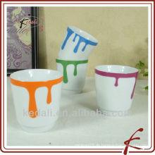 Heiße Art-kreative preiswerte Großhandelskeramische Porzellan-Schalen-Kaffeetasse