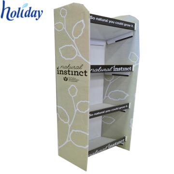 Exposição da composição de 4 séries, suporte de exposição cosmético do revestimento resistente