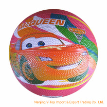 4c Screen Print High Quality Rubber Basketball Gifts
