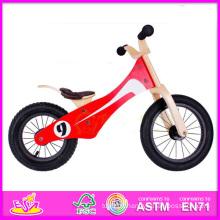 2014 Nouveau et Popualr En Bois Kid Vélo, Haute Qualité En Bois Kid Vélo et Vente Chaude Équilibre En Bois Kid Vélo W16c052