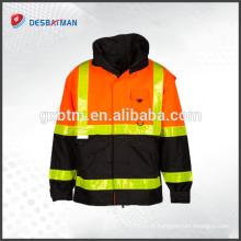 Meilleure vente Populaire vêtements réfléchissant Veste de sécurité salut vis sécurité veste réfléchissante