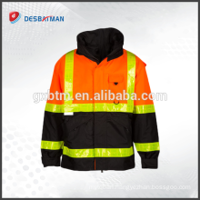 Best Sell Popular clothing reflective Safety jacket hi vis safety reflective jacket