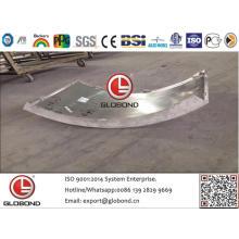 Твердая алюминиевая панель Globond (GL026)