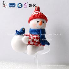 Снеговик Из Полимерной Глины Новогодние Украшения