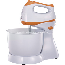 Full plastic housing and base stand mixer