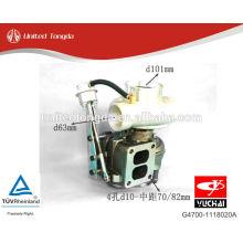 Sobrealimentador de motor Yuchai YC6G G4700-1118020A