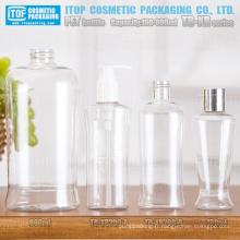 TB-XR série 160ml 200ml et 800ml monocouche multi usage bonne qualité unique forme ovale clair plastique bouteille d'animal familier
